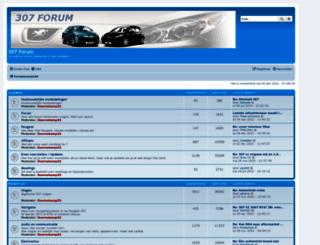 307forum.nl screenshot