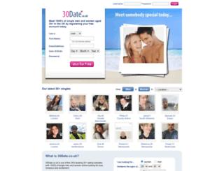 30date.co.uk screenshot