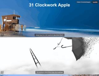 31clockworkapple.tumblr.com screenshot