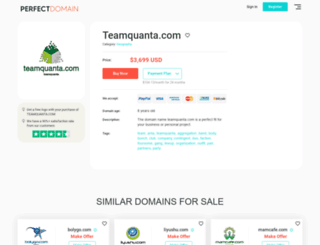 322754.teamquanta.com screenshot