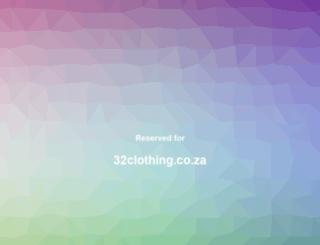 32clothing.co.za screenshot