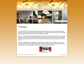 33portlandplace.com screenshot