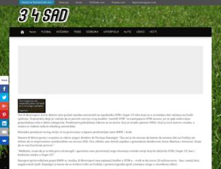 34sad.com screenshot