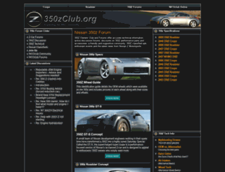 350zclub.org screenshot