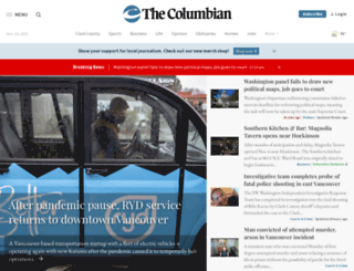 360.columbian.com screenshot