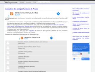 36obseques.com screenshot