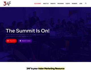 3af.org screenshot