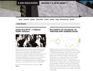 3ammagazine.com screenshot