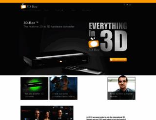 3d-bee.com screenshot