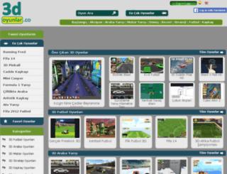 3d-oyunlar.co screenshot