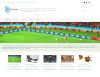 3d-sphere.com screenshot