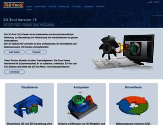 3d-tool.de screenshot