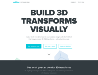 3d-transforms.webflow.com screenshot