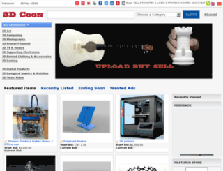3dcoon.com screenshot