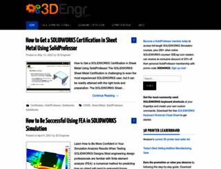 3dengr.com screenshot