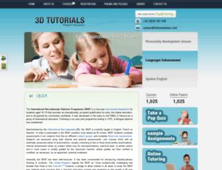 3dhometutors.com screenshot