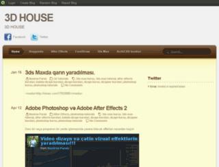 3dhouse.blog.com screenshot