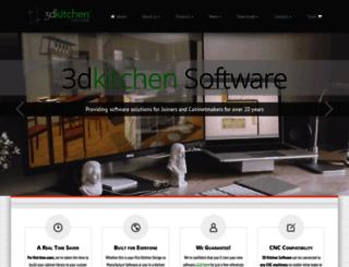 3dkitchen.co.nz screenshot