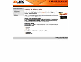 3dlabs.com screenshot