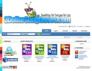 3dollarsunglasses.com screenshot