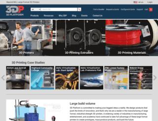 3dplatform.com screenshot
