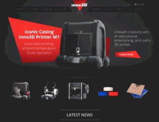 3dprint.inno3d.com screenshot