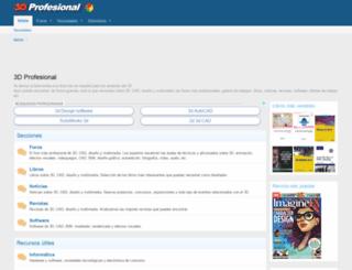 3dprofesional.com screenshot