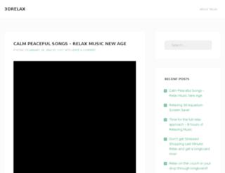 3drelax.com screenshot