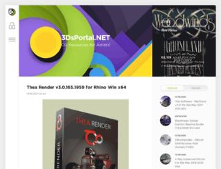 3dsportal.net screenshot