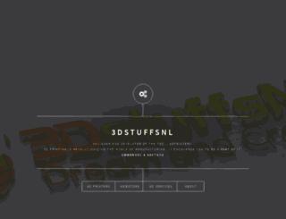 3dstuffs.nl screenshot