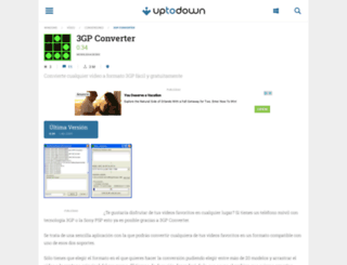 3gp-converter.uptodown.com screenshot