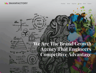 3manfactory.co.uk screenshot