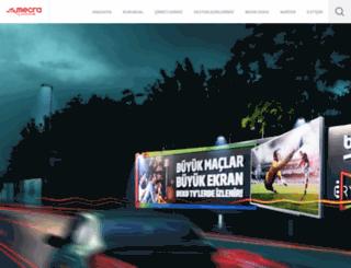 3mecra.com.tr screenshot
