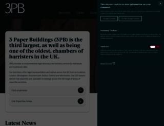 3pb.co.uk screenshot