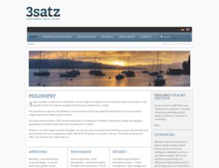 3satz.com screenshot