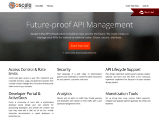 3scale.net screenshot
