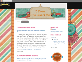 3timesthelove4me.blogspot.com screenshot