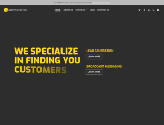 3waymarketing.co.za screenshot