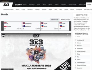 3x3worldtour.com screenshot