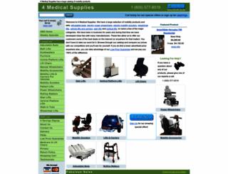 4-medical-supplies.com screenshot