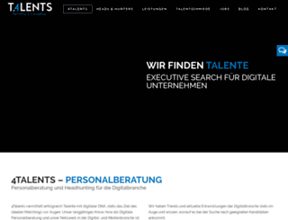 4-talents.de screenshot