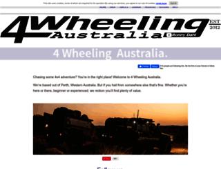 4-wheeling-in-western-australia.com screenshot