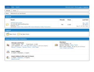 400club.freeforums.net screenshot