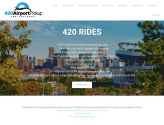 420friendlyairportpickup.com screenshot