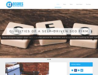 43degres.com screenshot