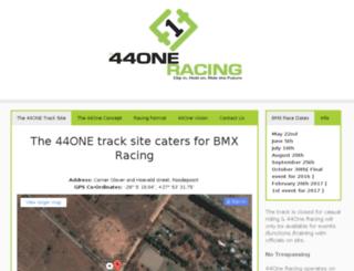44oneracing.co.za screenshot