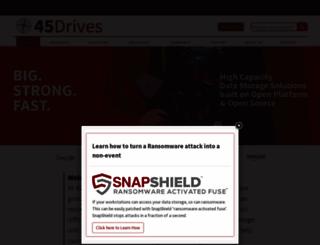 45drives.com screenshot