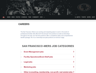 49ers.teamworkonline.com screenshot