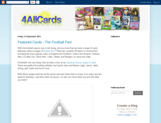 4allcards.blogspot.co.uk screenshot