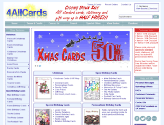 4allcards.com screenshot